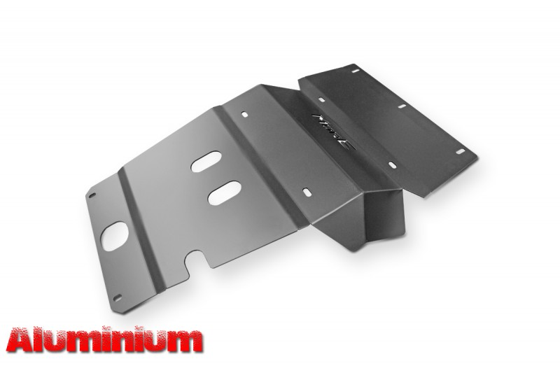Aluminiowa przednia osłona podwozia, silnika - Toyota Hilux Vigo 11-15 do zderzaka Z014