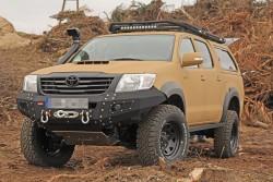 Zderzak przedni stalowy More 4x4 Toyota Hilux Vigo 11-15