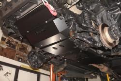 Stalowa przednia osłona podwozia, silnika - Toyota Hilux Vigo 05-11 do zderzaka Z010