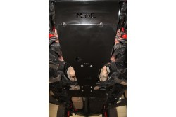 Zestaw stalowych osłon podwozia MorE 4x4 - Toyota Land Cruiser J150 09-14