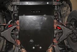 Stalowa osłona podwozia, przednia - Toyota Land Cruiser J150 09-14 - Do zderzaka Z007