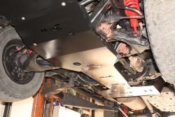 Stalowa osłona podwozia, przednia - Toyota Land Cruiser J150 09-14