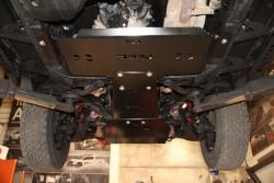 Stalowa osłona podwozia, reduktora - Toyota Land Cruiser J150