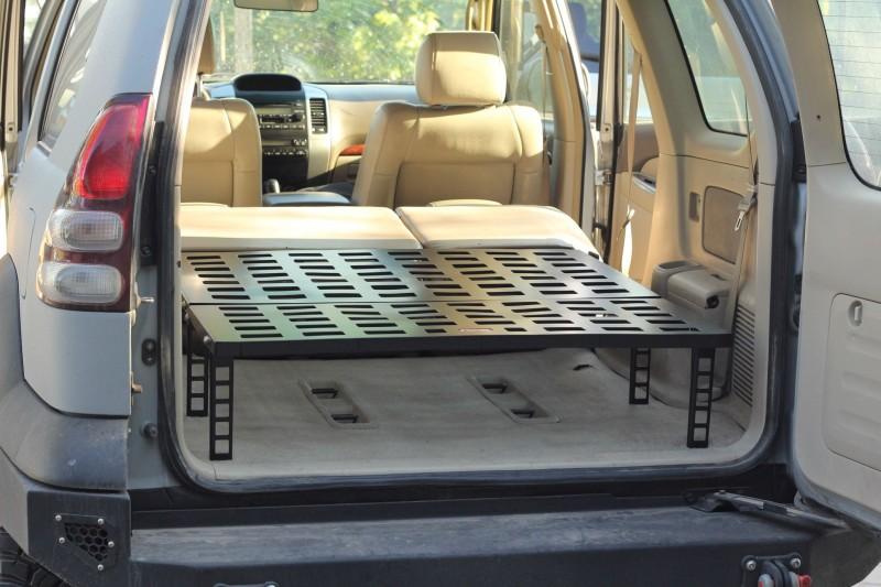 Zabudowa sypialna, rozkładana - Toyota Land Cruiser J120 - MorE 4x4