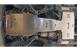 Zestaw aluminiowych osłon podwozia MorE 4x4 - Toyota Land Cruiser J150 2014+