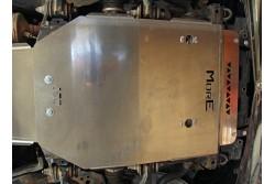 Aluminiowa osłona podwozia, przednia - Toyota Land Cruiser J150 14+