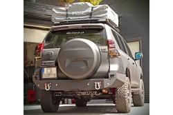 Zderzak tylny stalowy MorE 4x4 Toyota Land Cruiser 150 09-14 long