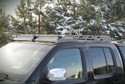Bagażnik Dachowy Nissan Navara D40, skrzynkowy - More4x4