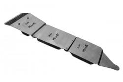 Zestaw stalowych osłon podwozia MorE 4x4 - Nissan Navara D40 / Pathfinder R51