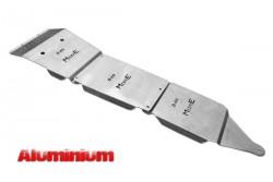 Zestaw aluminiowych osłon podwozia MorE 4x4 - Nissan Navara D40 / Pathfinder R51 05-10