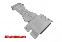 Zestaw aluminiowych osłon podwozia MorE 4x4 - Toyota Hilux REVO