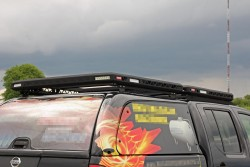 Bagażnik dachowy na hardtop pickup'a 120x120cm - More4x4