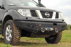Zderzak przedni stalowy More 4x4 Nissan Navara D40 / Pathfinder R51 05-10