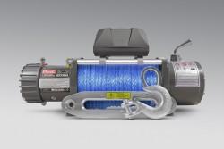 Wyciągarka MORE 4X4 ECONO 9500lbs 12V, syntetyk, ślizg, pilot b/p