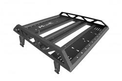 Bagażnik dachowy 120x130cm do rynienek klasycznych, koszowy - MorE 4x4
