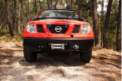 Zderzak AFN do wyciągarki - Nissan Navara D40 /...