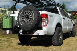 Zderzak tylny stalowy AFN Ford Ranger T6 od 2012