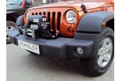 Płyta Montażowa do Wyciągarki Jeep Wrangler JK 07-12