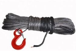 Lina syntetyczna z hakiem 9,5mm 28m