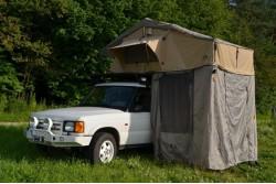 Namiot dachowy 180cm z aneksem