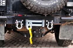 Płyta pod wyciągarkę Land Rover Defender