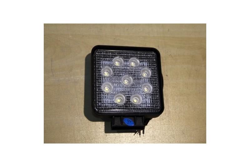 Lampa robocza 27W rozproszone światło kwadratowa