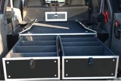 Zabudowa szufladowa Nissan Patrol Y60/Y61 - długi