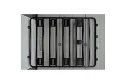 Bagażnik aluminiowy 1350x1800 bez relingów