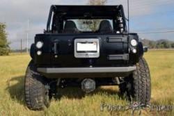 Zderzak tylny BFH stalowy POISON SPYDER - Jeep Wrangler JK