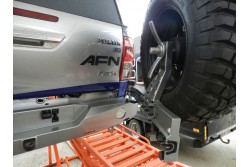 Zderzak tylny AFN Toyota Hilux Revo