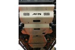 Osłona skrzyni AFN aluminium Toyota Hilux Revo