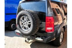 Uchwyt z siłownikiem na koło zapasowe do Land Rover Discovery III i IV