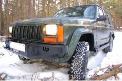 Zderzak skrzynkowy pod wyciągarkę - Jeep Cherokee...
