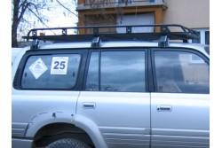 Bagażnik dachowy wyprawowy - Toyota Land Cruiser 80