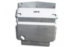 Osłona aluminiowa przodu Asfir - Nissan Navara /...