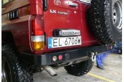 Zderzak tylny skrzynkowy z lampami - Toyota Land...