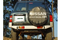 Zderzak tylny AFN Nissan Patrol Y61