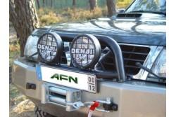 Orurowanie AFN do zderzaka - Nissan Patrol Y61