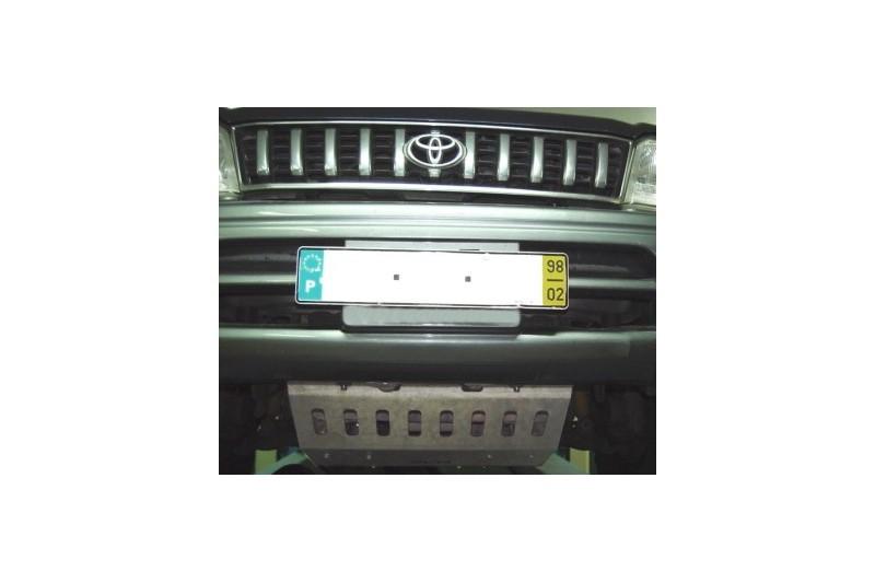 Osłona drążków kierowniczych aluminiowa - Toyota Land Cruiser 90