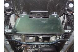 Osłona skrzyni aluminiowa - Toyota Hillux 2005-