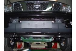 Osłona drążków stal ocynkowana - Nissan Navara D40...