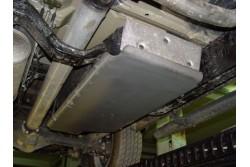 Osłona zbiornika aluminium - Nissan Navara D40 /...