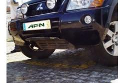Osłona drążków i miski aluminium - Mitsubishi...