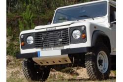 Osłona drążków aluminiowa - Land Rover Defender