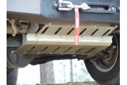 Osłona drążków stal ocynkowana - Land Rover Defender