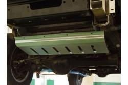 Osłona drążków stal ocynkowana - Land Rover Discovery