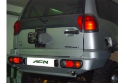 Zderzak tylny AFN - Nissan Terrano II krótki