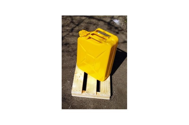 Kanister na paliwo 20L żółty