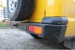 Zderzak skrzynkowy tylny do Land Rover Discovery II